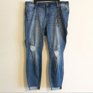 STS Blue Ellie High Rise Ankle Distressed Jeans